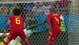 Гол Инуи. Япония ведет 2:0 в матче с Бельгией