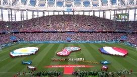 Сборная Франции обыграла уругвайцев и вышла в полуфинал чемпионата мира