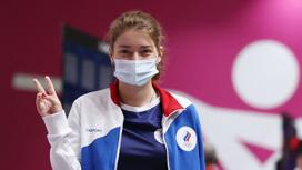 Виталина Бацарашкина выиграла свою вторую золотую медаль