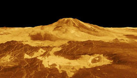 Компьютерное моделирование пейзажа Венеры