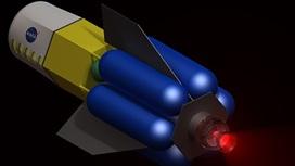 В ядерном двигателе реактивная струя будет нагреваться энергией атомного реактора.