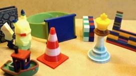 Примеры изделий, напечатанных авторами из разных материалов на обычном 3D-принтере.