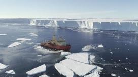 Ледник Туэйтса аккумулирует в себе огромный объём воды.
