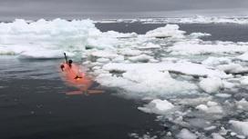"Автономная субмарина проникла под ""ледник Судного дня""."