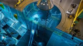 Бассейн сможет вместить модель всей МКС.