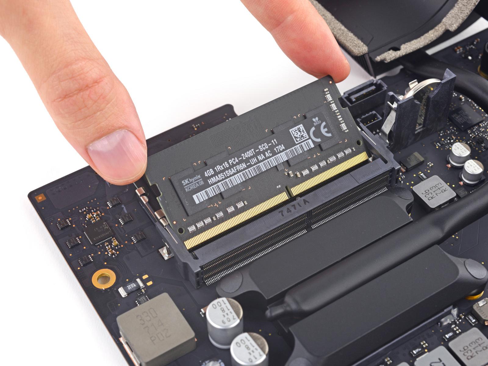 Новый iMac получил съёмные процессор иоперативную память