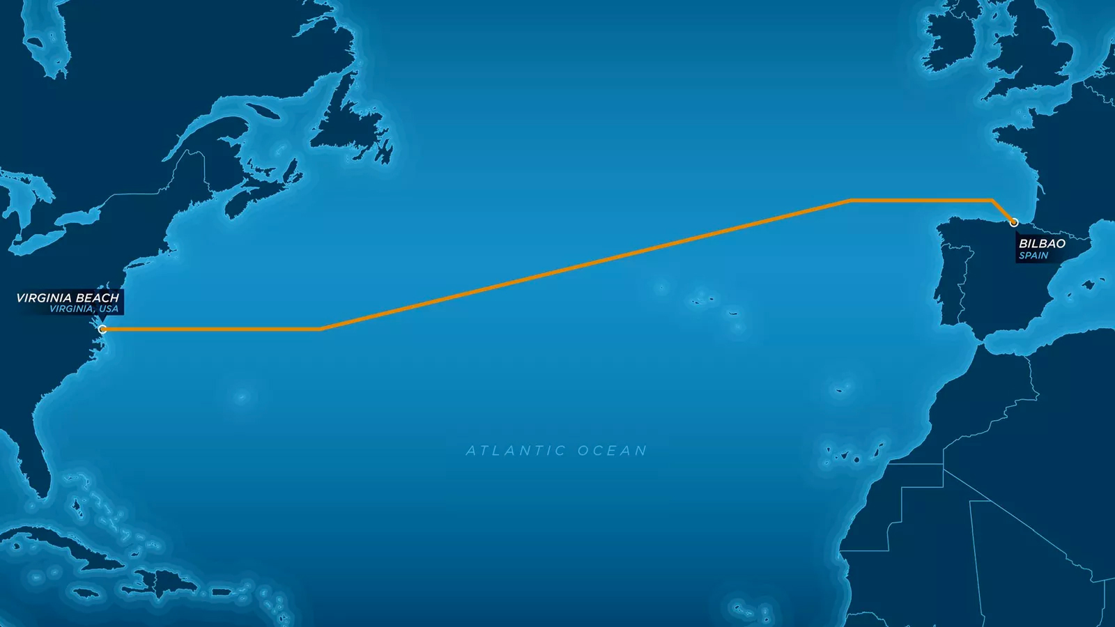 Microsoft соединила США иИспанию мощнейшим интернет-кабелем