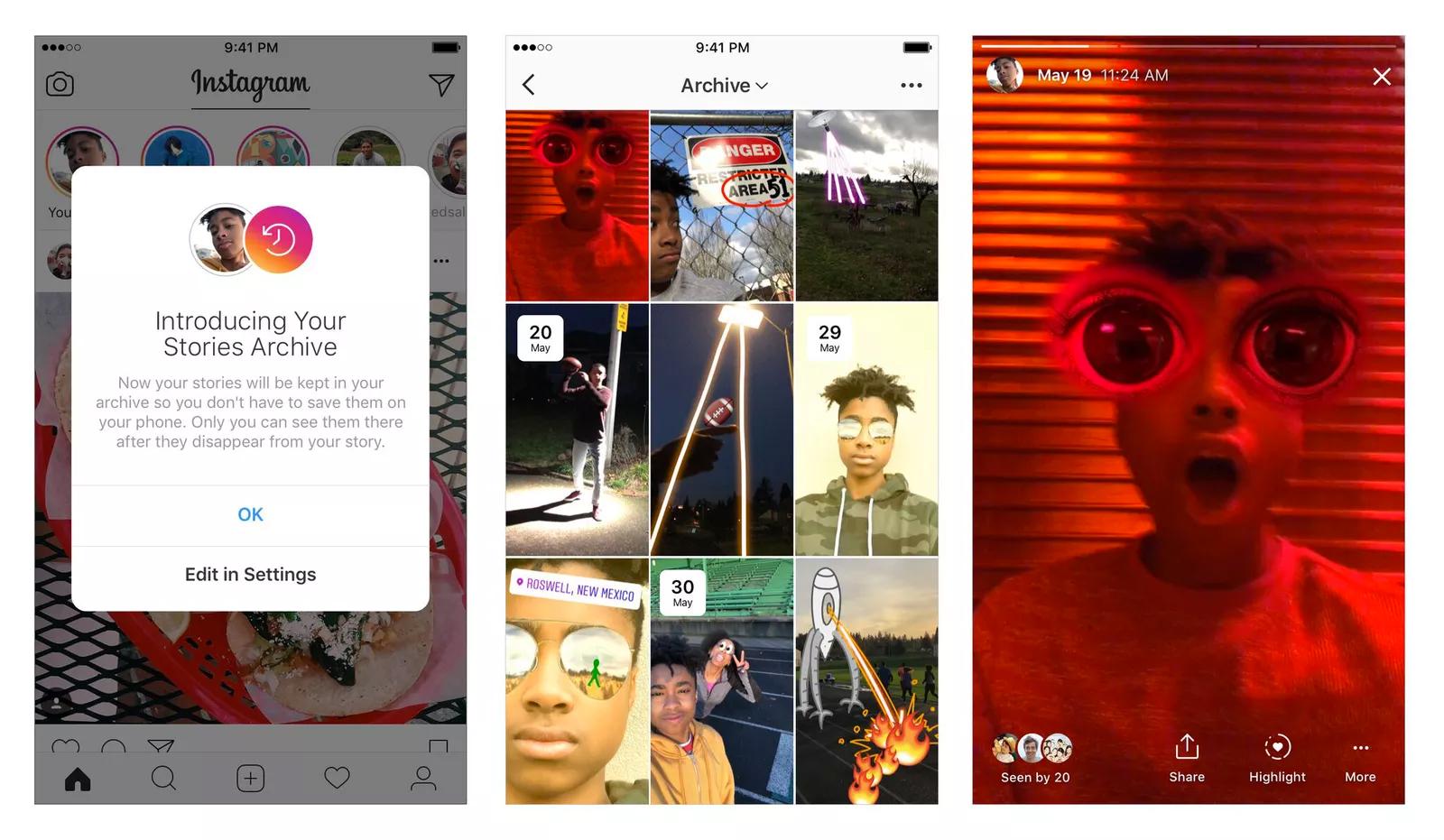 Социальная сеть Instagram обзавелся новоиспеченной функцией