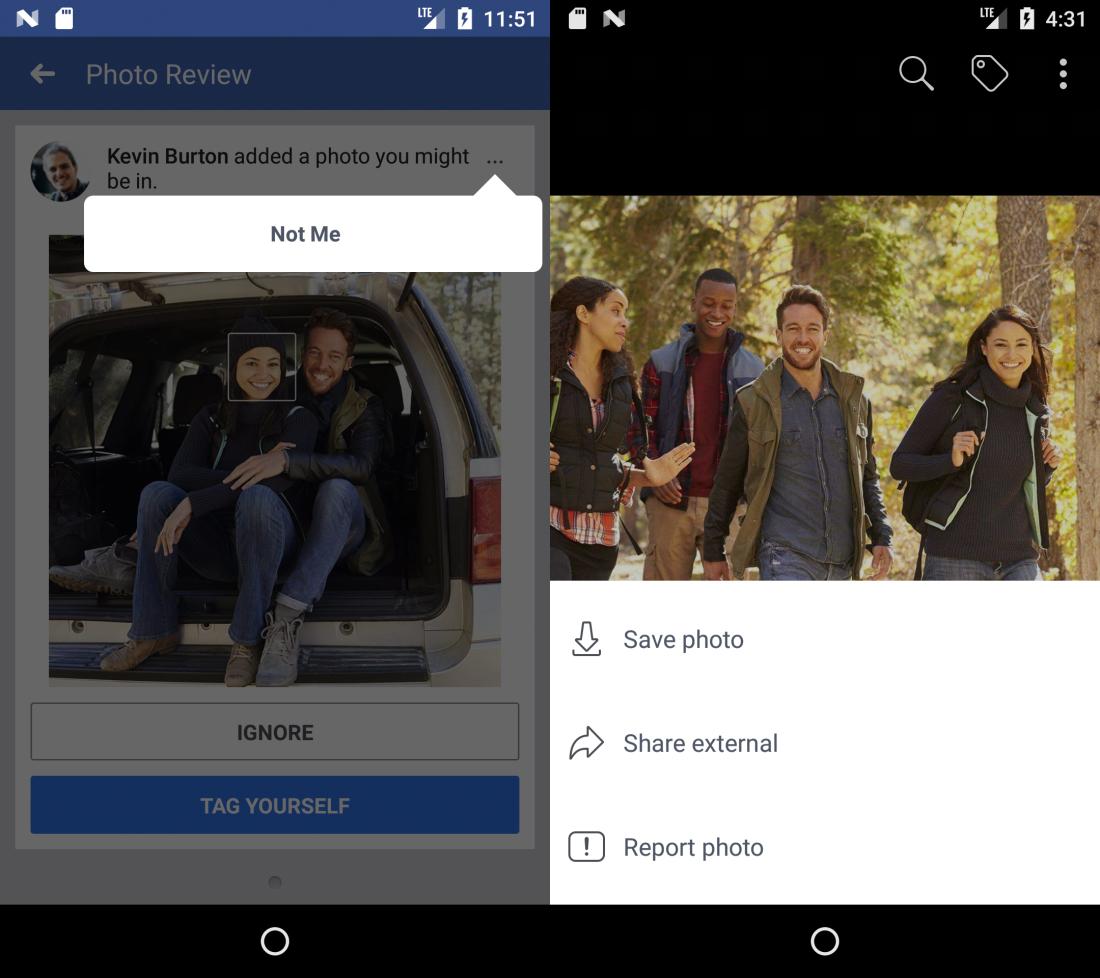 Социальная сеть Facebook будет уведомлять пользователей офотографиях сними начужих страницах