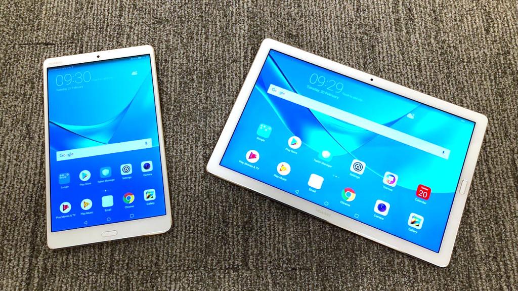 Китайский производитель Huawei представил мощные планшеты для развлечений и работы MediaPad M5
