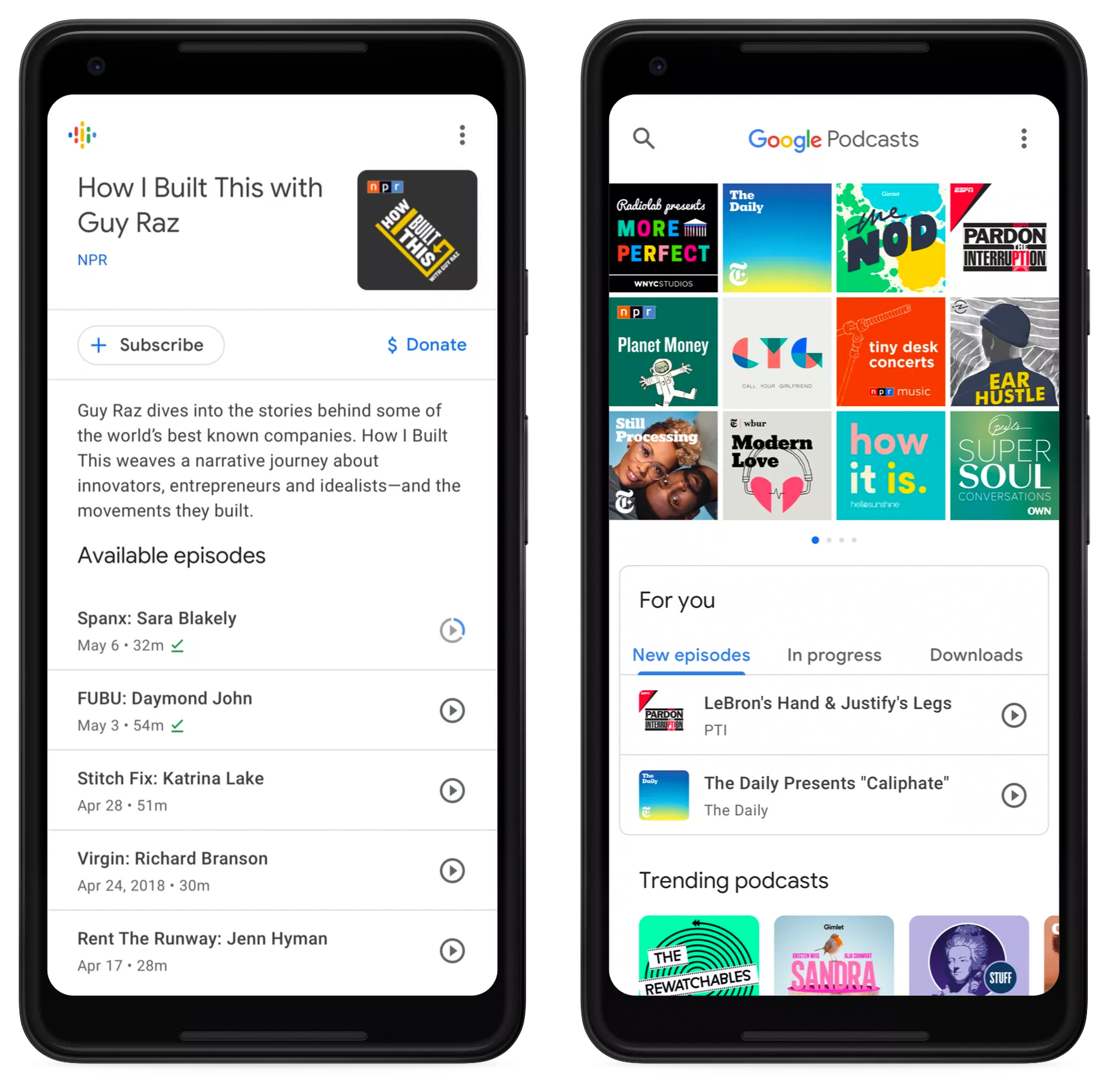 Приложение Google сможет преобразовывать в текст и переводить подкасты
