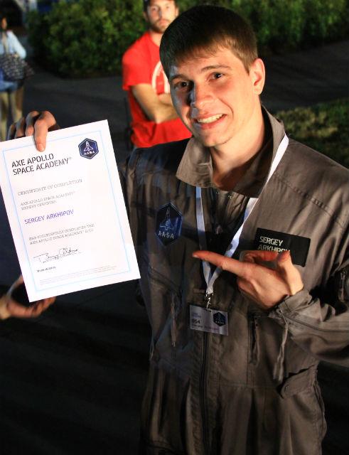 Ещё до поездки в США меня уже все друзья и знакомые стали называть космонавтом.