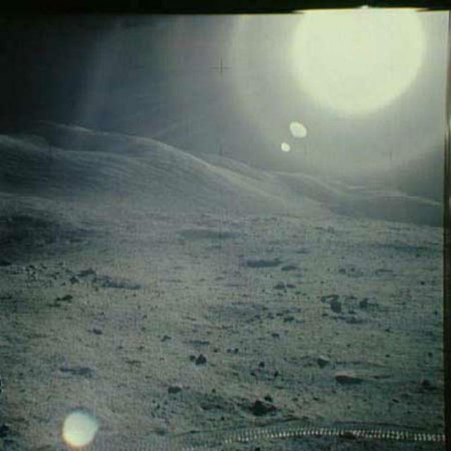 """Лунный пейзаж. Миссия """"Аполлон-17"""", 1972 год"""