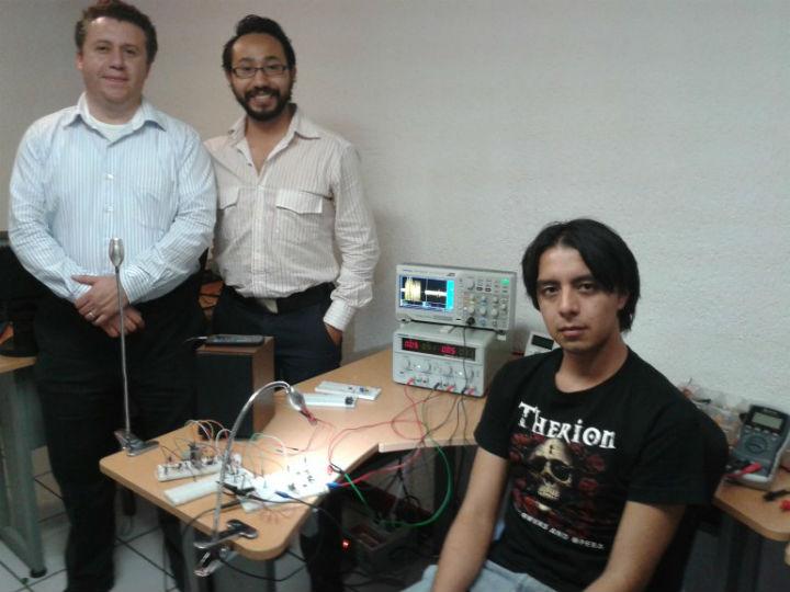 Команда разработчиков новой системы Li-Fi