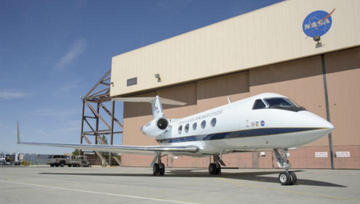 Для испытаний был использовал бизнес-джет Gulfstream III