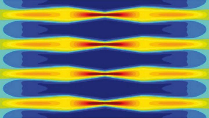 Световые волны создают промежутки, внутри которых можно замаскировать информацию