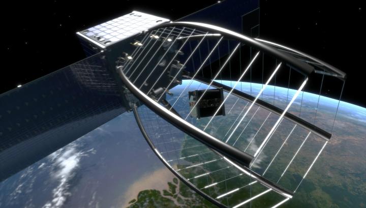 Космический мусор √ это разбитые спутники и отработанные ступени ракет, осколки различных размеров и форм, вращающиеся вокруг нашей планеты с угрожающей скоростью
