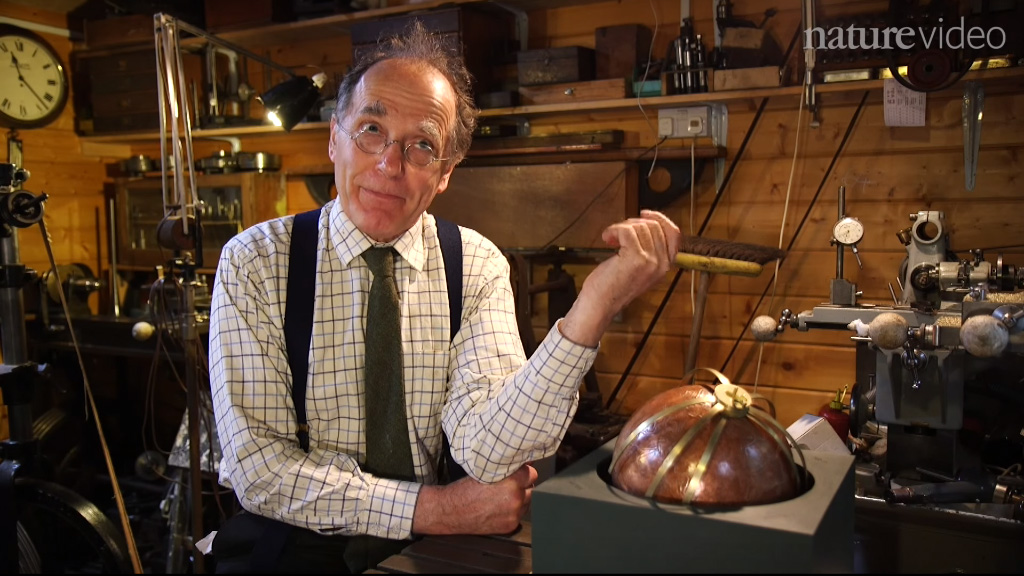 Инженер-механик Майкл Райт. Кадр из видео Nature / Youtube