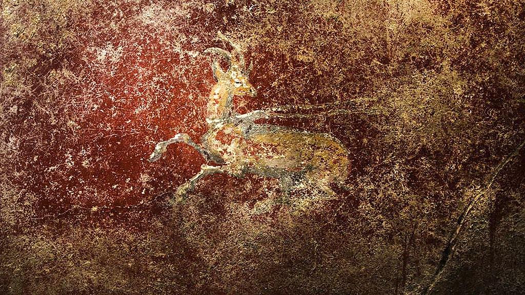 Одна из фресок ╚Дома с дельфинами╩. Фото: Sergio Siano / Archaeological site of Pompeii