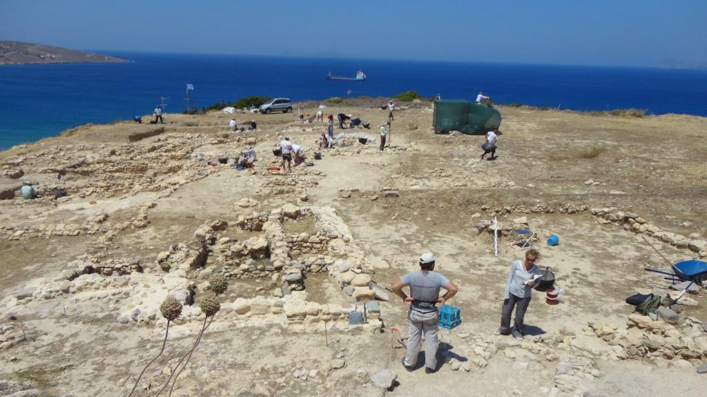 Раскопки в Петрасе. Фото: David Rupp / CIG-ICG