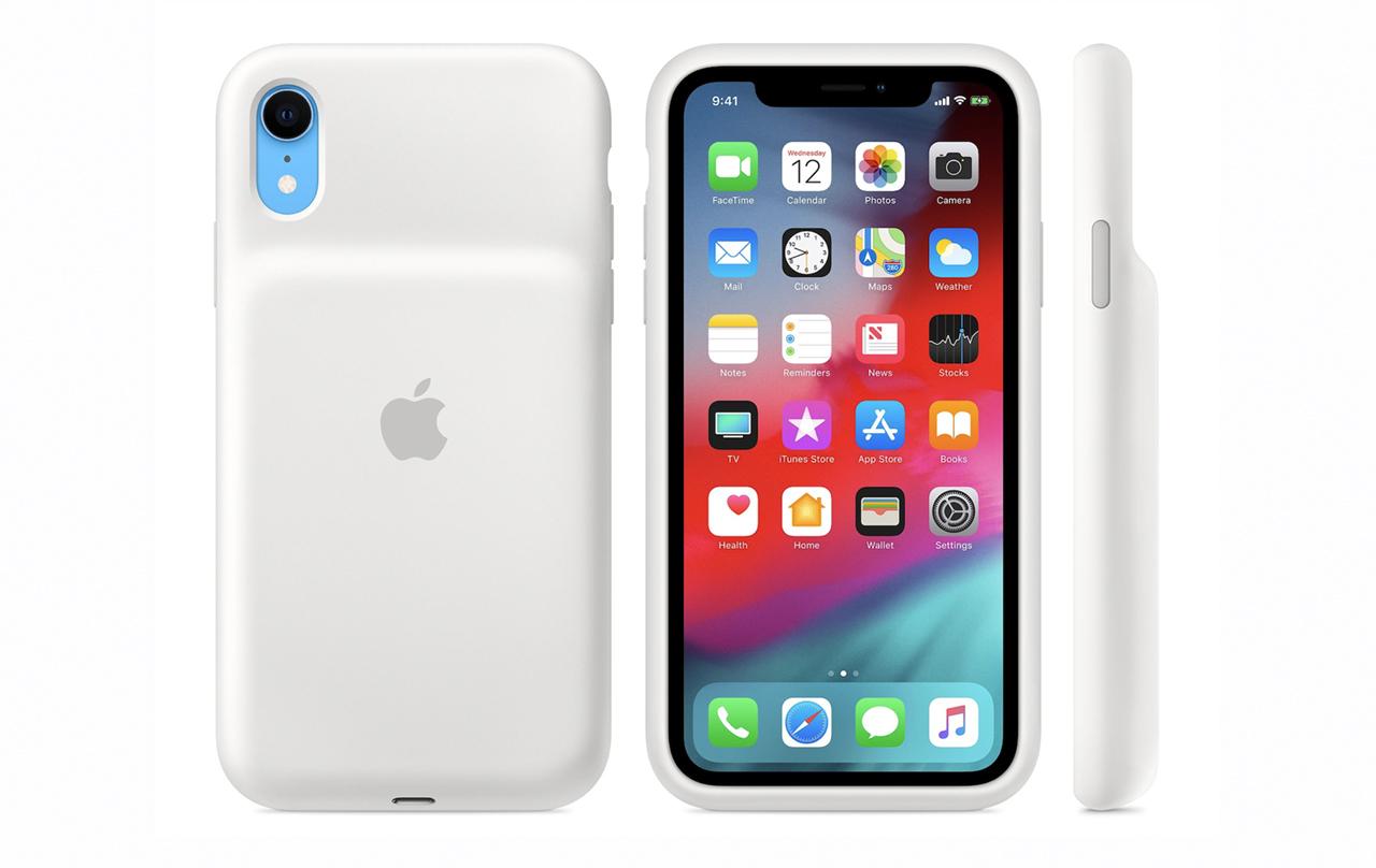 Apple начала продавать чехлы-аккумуляторы для iPhone XS, XS Max и XR