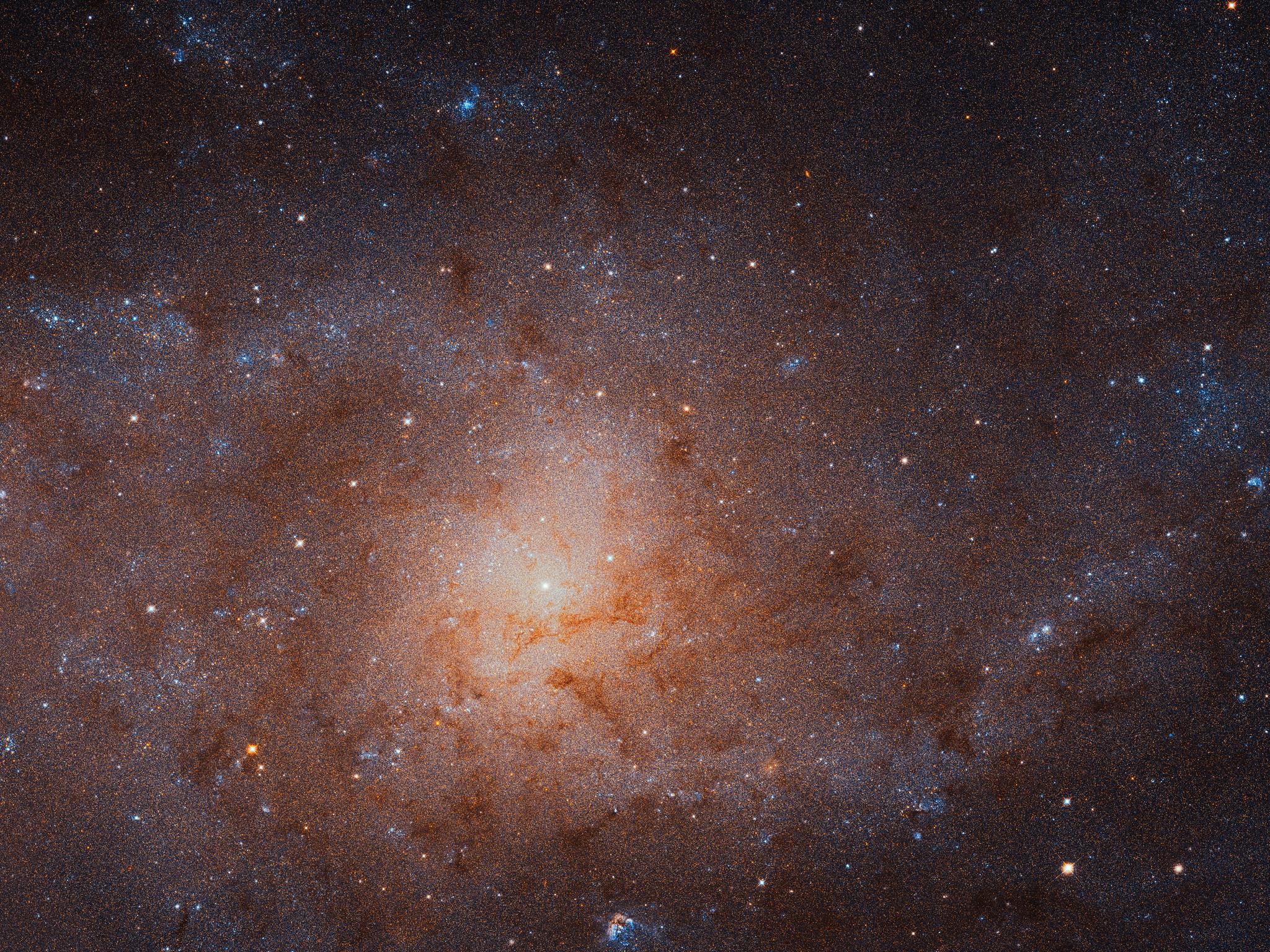 Как выяснилось, галактика Треугольника (на фото) не является спутником М31.