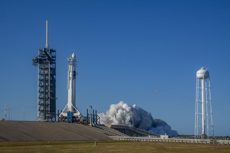 Старты пилотируемых миссий к МКС с территории США не проводятся с 2011 года.