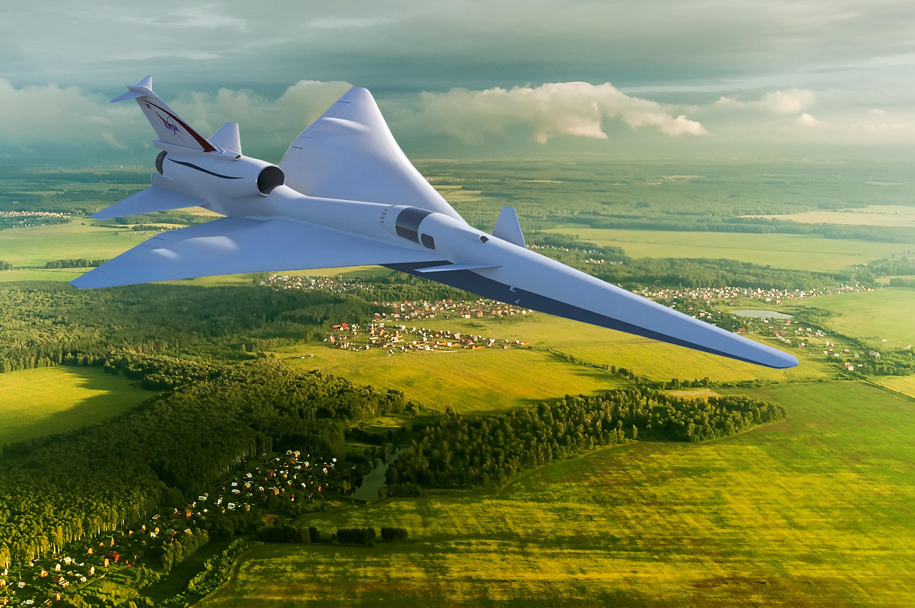 Полученные данные должны помочь в разработке малошумного сверхзвукового пассажирского лайнера X-59 QueSST.