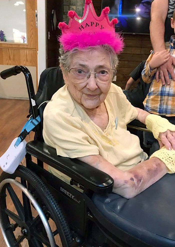 Роуз Мари Бентли прожила практически 100 лет.