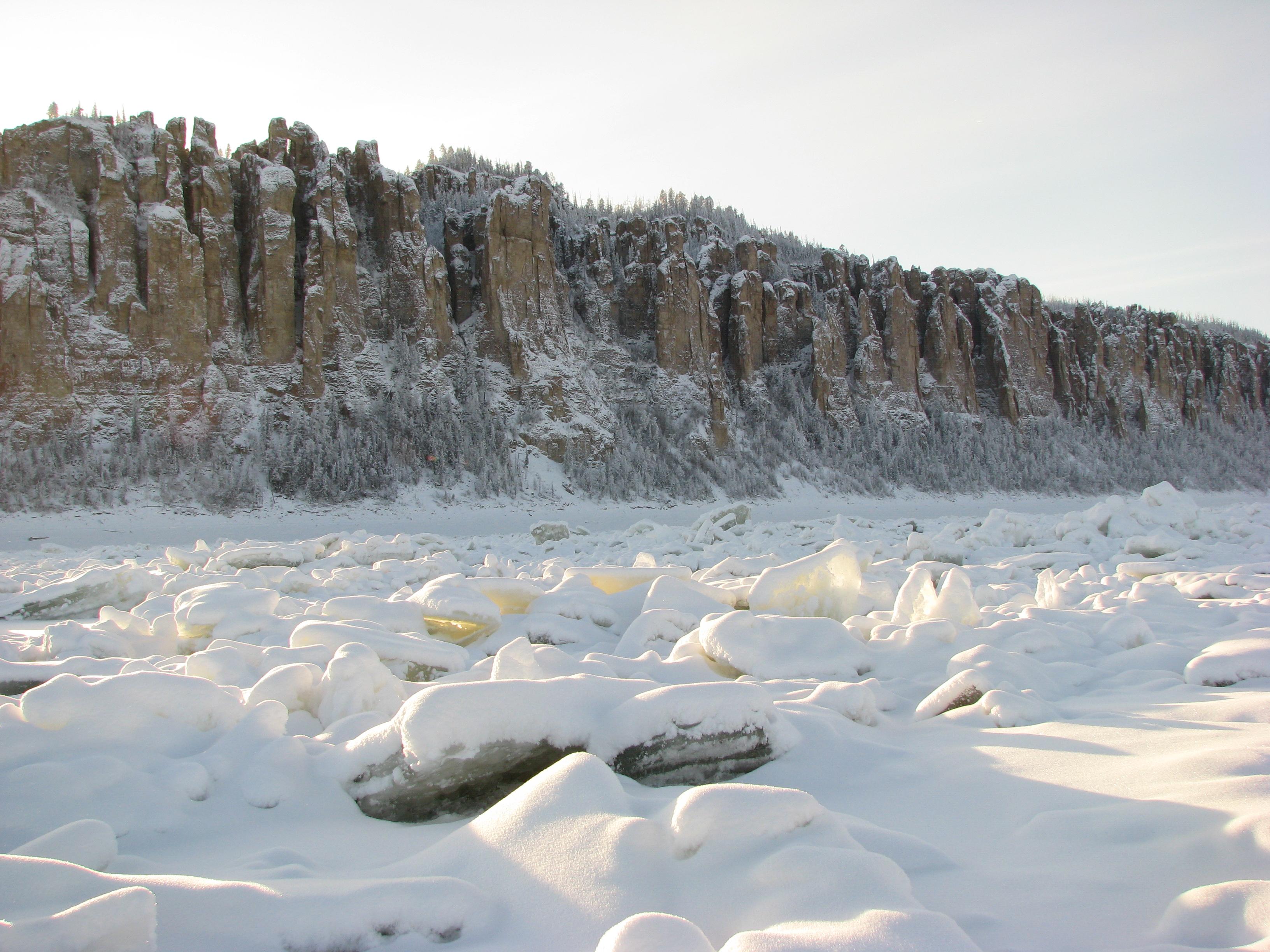 На месте современной Якутии некогда плескалось море.