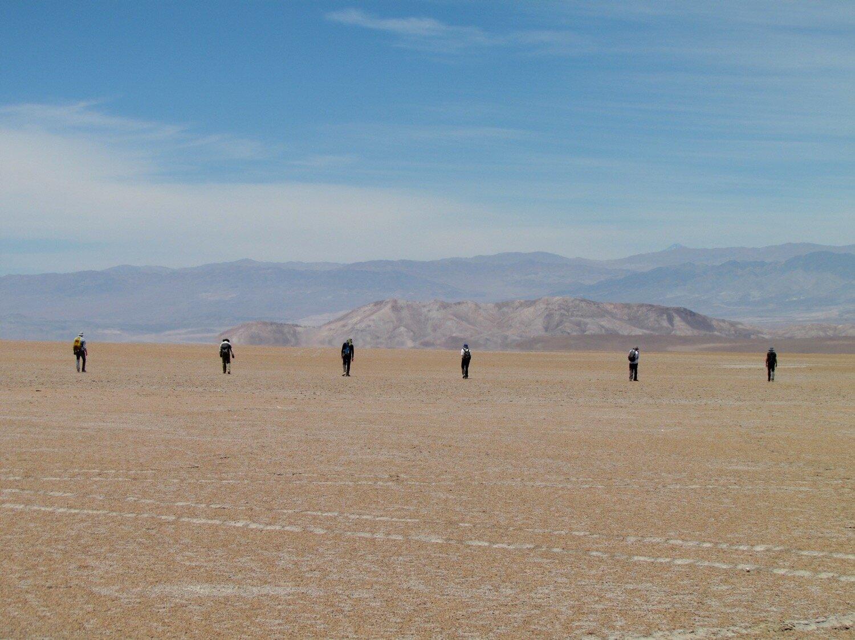 Метеориты в пустыне буквально лежат под ногами.