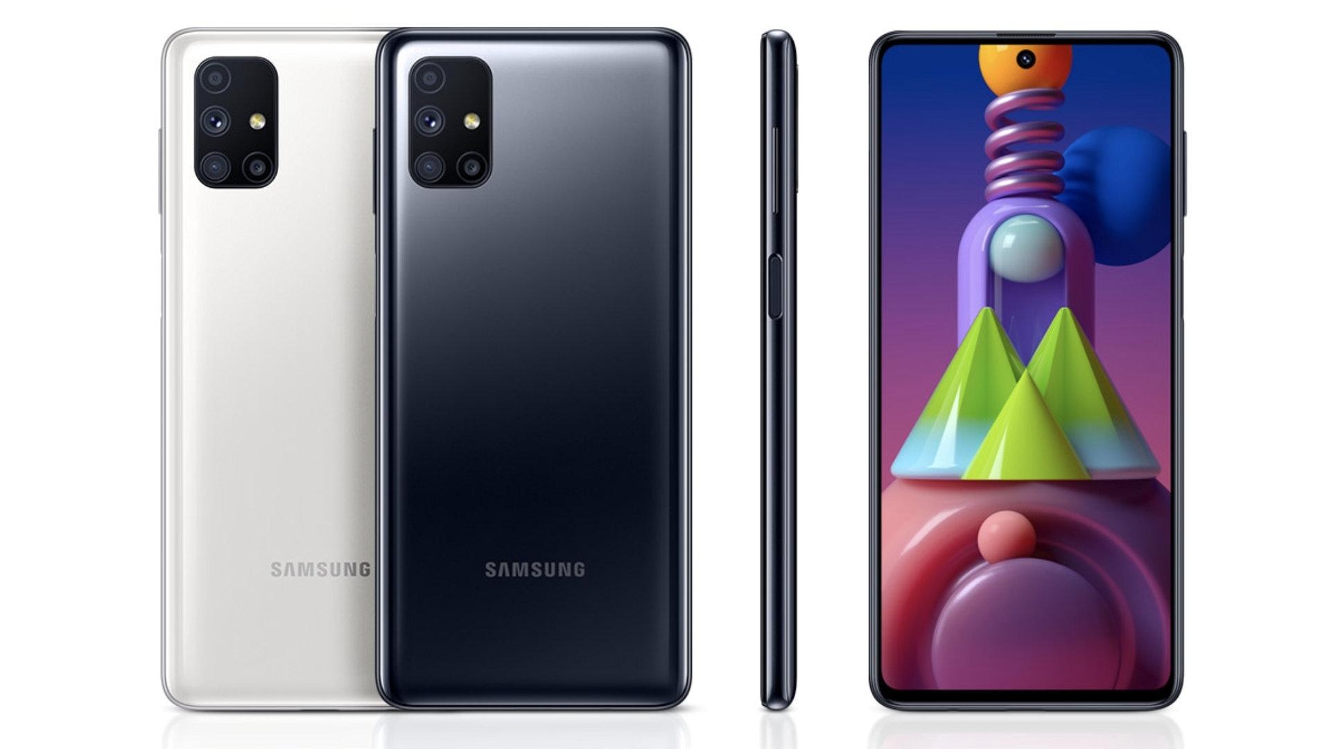 *Samsung Galaxy M51. Фото с сайта производителя*