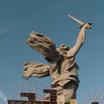 """Монумент """"Родина-мать зовёт!"""" на Мамаевом кургане освободился от строительных лесов"""
