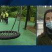 На газонах в парках Казани появилась круговая разметка