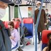 Более 70 омичей наказали за неделю за поездки без масок в транспорте
