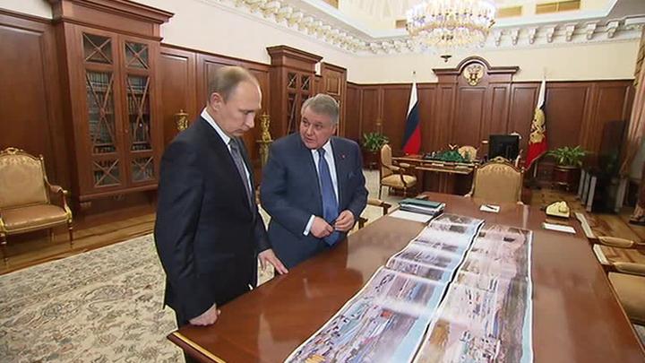Глава Курчатовского института доложил президенту о важных проектах