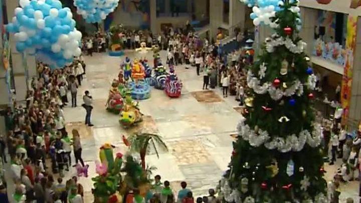 На сцене Кремлевского дворца начались новогодние представления