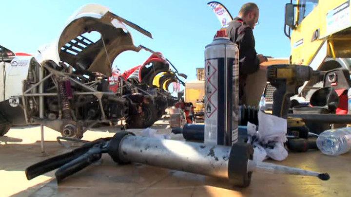 Гонка Africa Eco Race переезжает из Марокко в Мавританию