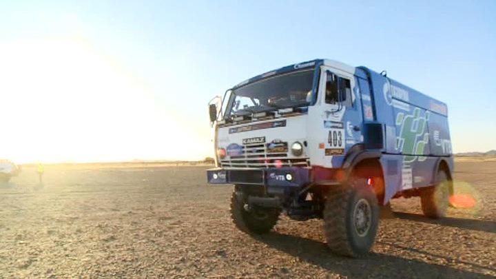 """Ралли """"Африка эко рейс"""": мавританская пустыня преподносит неприятные сюрпризы"""