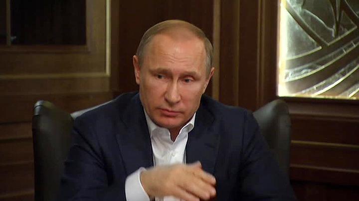 Президент России Владимир Путин дал интервью немецкому изданию Bild
