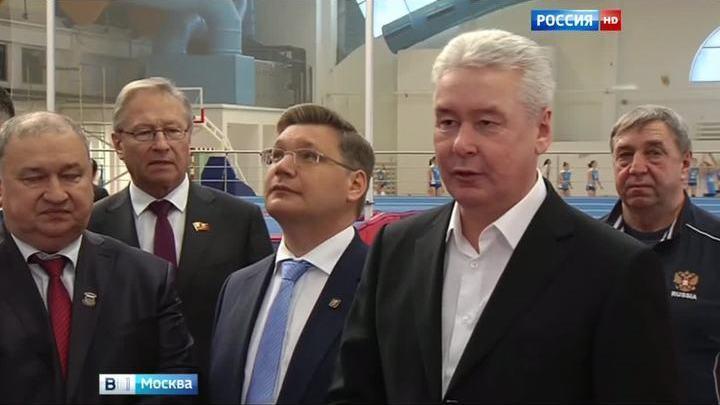 Сергей Собянин посетил Московский строительный университет