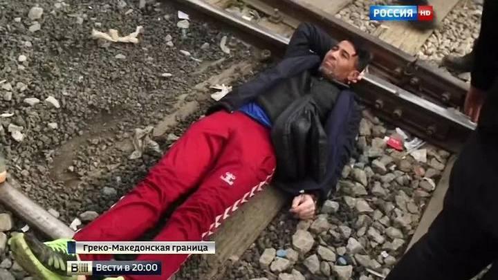 """""""Мы – не животные"""": тысячи мигрантов требуют от Европы открыть границы"""