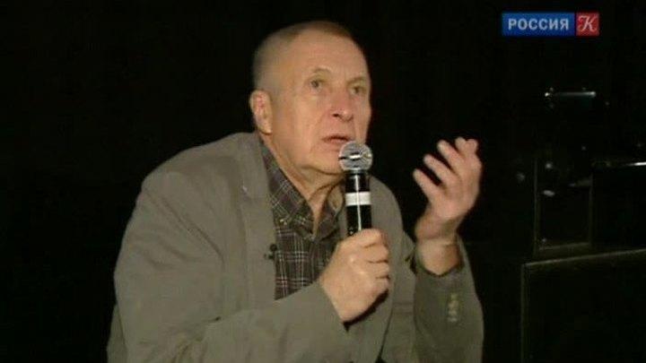 Режиссер и актер Андрей Смирнов принимает поздравления с 75-летним юбилеем