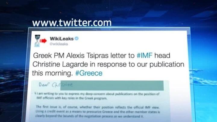 WikiLeaks: МВФ может довести Грецию до дефолта