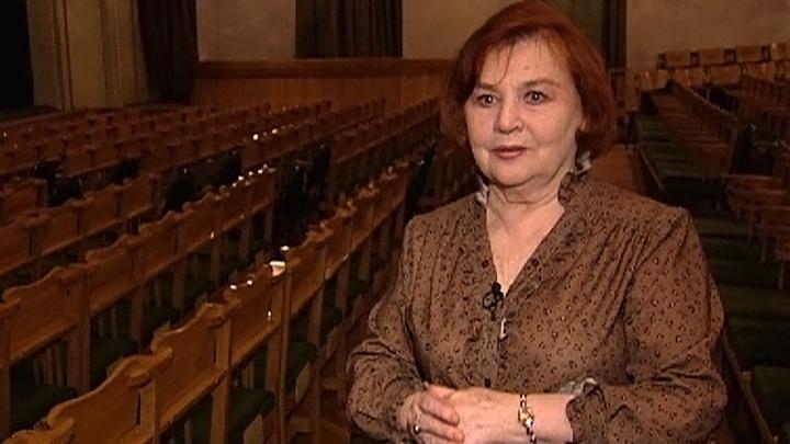 Нина Гуляева отмечает юбилей