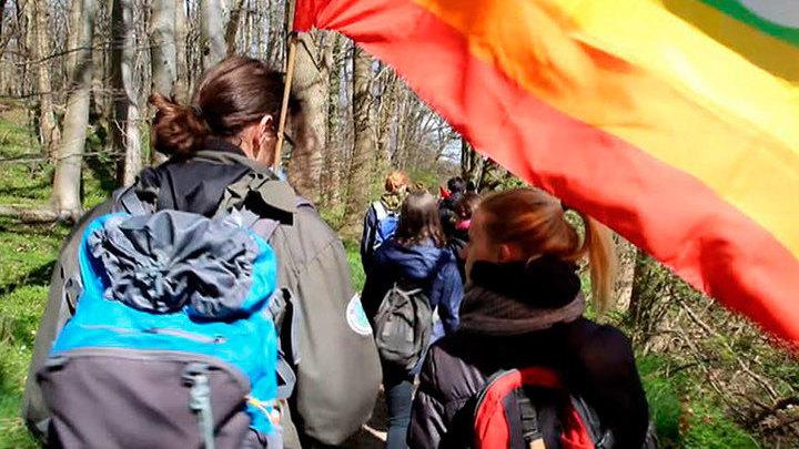 На датско-немецкой границе протестующие призвали открыть границы для беженцев