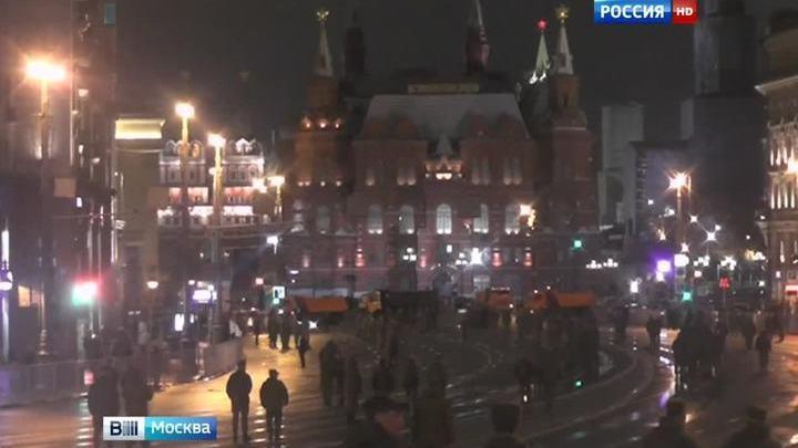 В центре Москвы состоялась репетиция парада ко Дню Победы