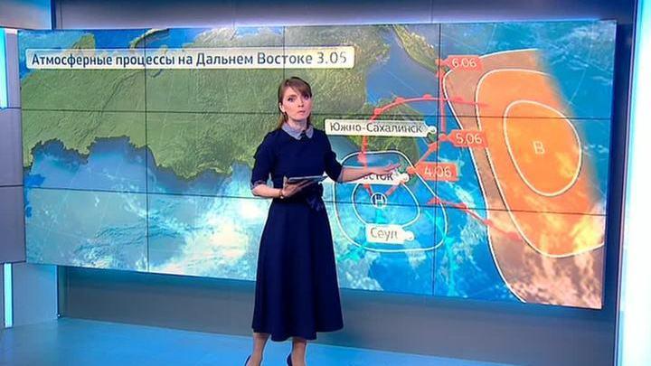 """""""Погода 24"""": штормовое предупреждение в Приморье"""
