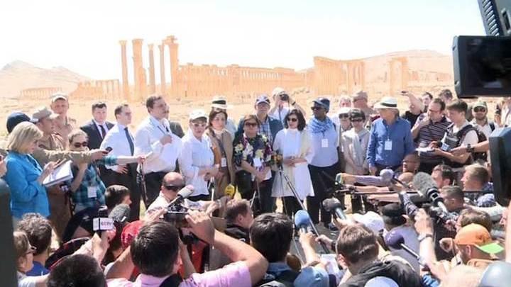ЮНЕСКО: террористы заработали на продаже ценностей Пальмиры 36 миллионов