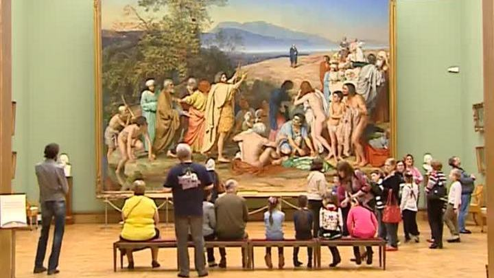 """Картина """"Явление Христа народу"""" в Третьяковке удостоена особого внимания"""